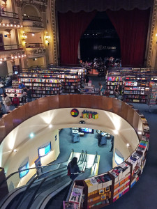 Book Store in Converted Theatre