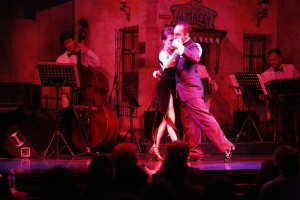 Tango Dance Troupe on Stage